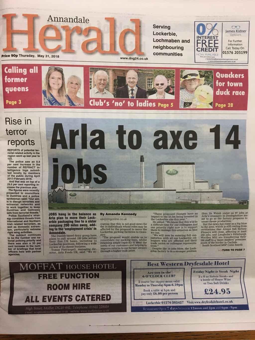 Annandale Herald 20180531