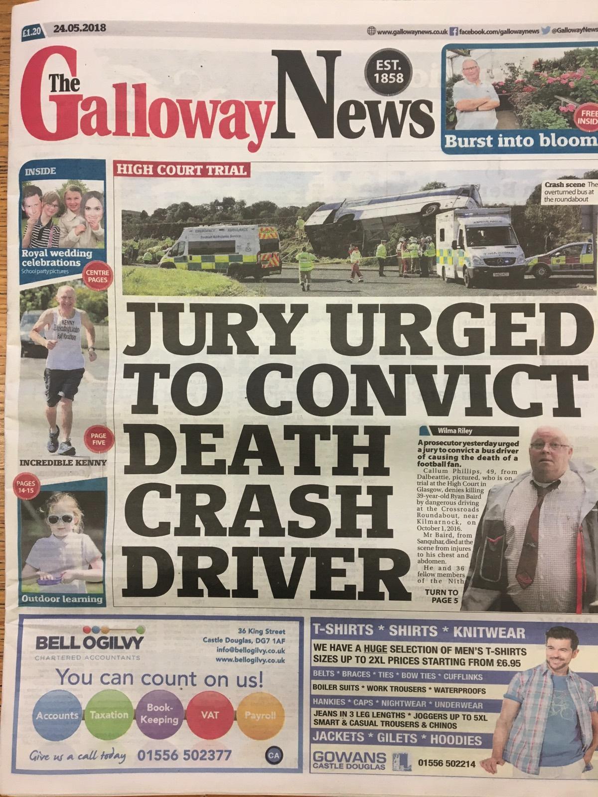 Galloway News 20180524