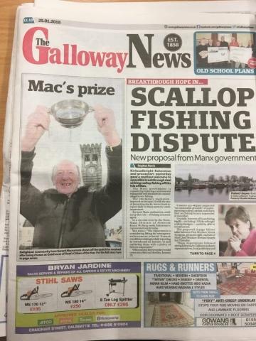 Galloway News 20180125
