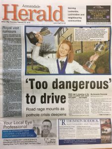 Annandale Herald 20180222