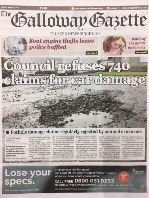 Galloway Gazette 20180427