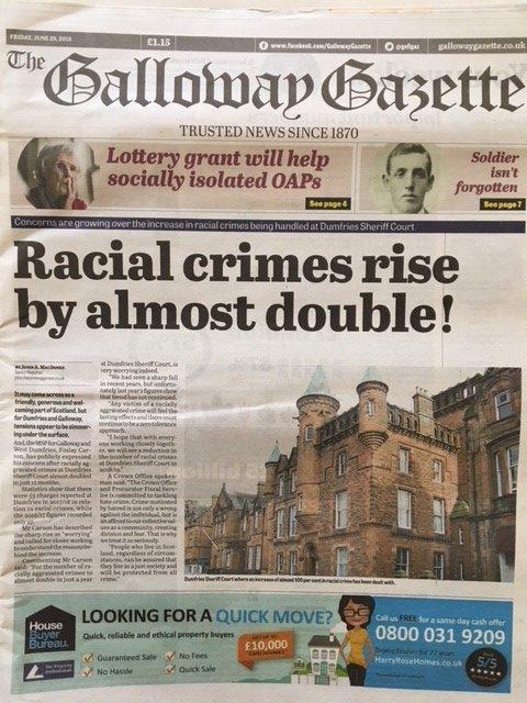 Galloway Gazette 20180629
